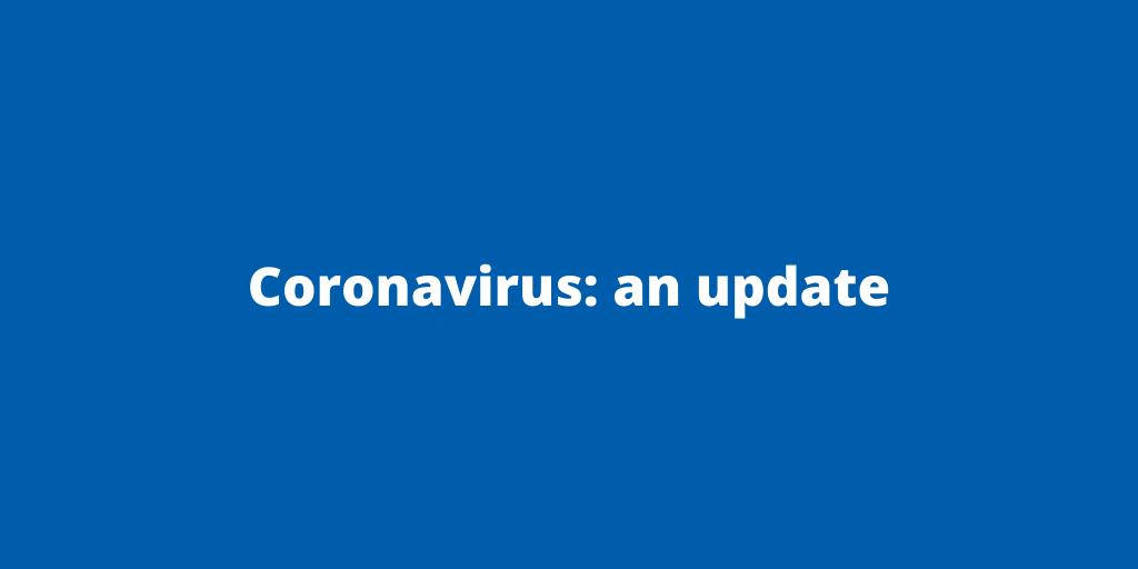 Coronavirus_ an update