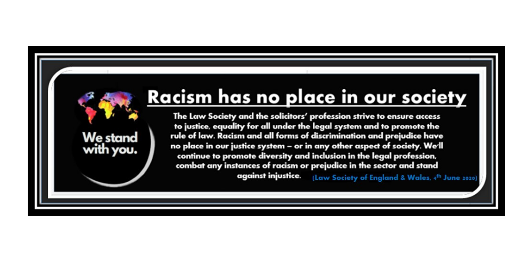 Racism has no place